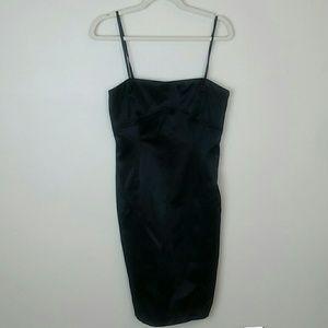Zara basic black dress medium